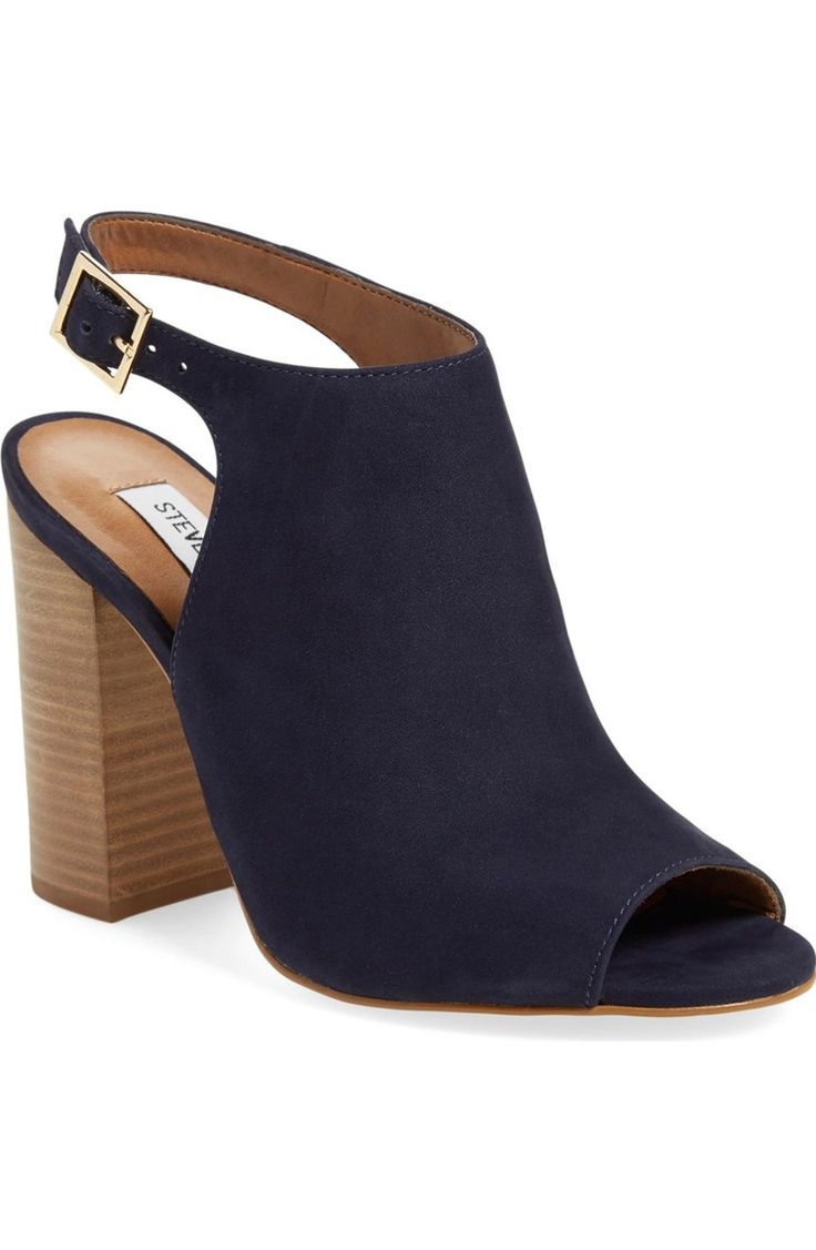 Definitely adding these Nordstrom Anniversary Sale shoes to the shopping cart! A stacked block heel grounds this effortlessly chic open-toe sandal in trend-savvy style, while the dramatic back cutout provides a breezy finish.