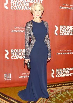 Helen Mirren, 69, Brings Sexy to the Red Carpet in Semi-Sheer Dress - Us Weekly