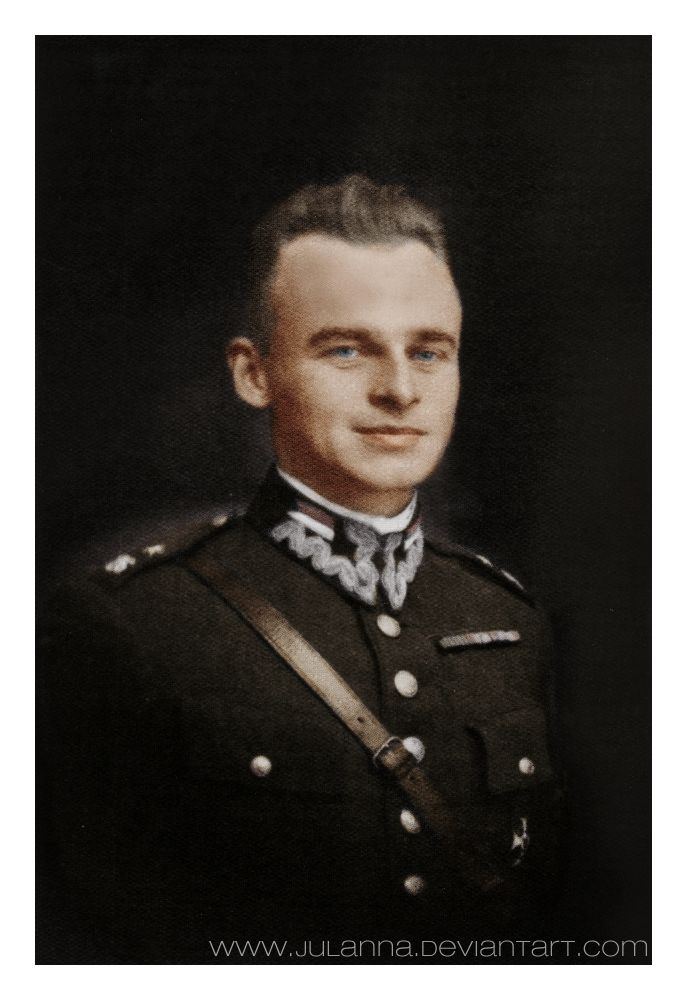 Witold Pilecki (V 13, 1901 – V 25, 1948)  soldier of the II Polish Republic, the founder of the  resistance group and a member of the AK (Armia Krajowa). As the author of the Witold`s report, the first intelligence report on Auschwitz concentration camp, Pilecki's operation enabled the Polish government-in-exile to convince the Allies that the Holocaust was taking place. He remained loyal to the London-based Polish government-in-exile and was executed in 1948 by the Stalinist secret police…