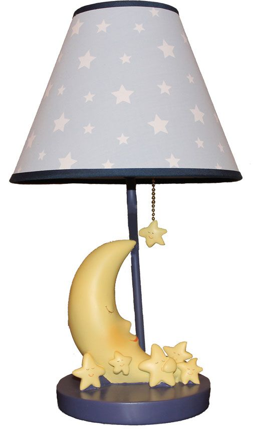 Moon And Stars Lamp For Kids Baby And Kids Lighting