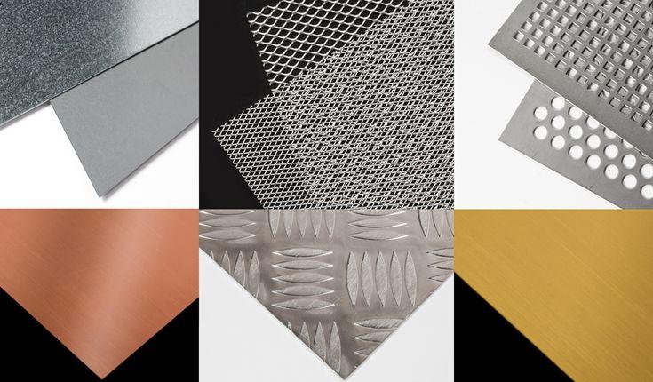 ESPECIAL PLANCHAS DE METAL: Un repaso por las mejores chapas metálicas para construcción, decoración y manualidades. #PlanchasMetálicas #PlanchadeMetal #MetalSheet