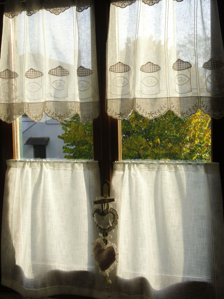 ... about Cortinas on Pinterest  Shabby chic, Tie up curtains and Urban