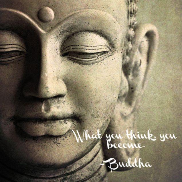 What You Think, You Become. ~Buddha #quote #buddha
