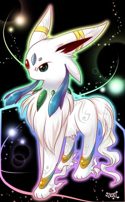 Rainbow Eeveelution version 0.0 cool