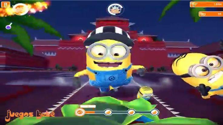 Despicable Me Minion Rush Espanol Completa nivel 36 37 Minions Juegos Para Niños y Bebes Español - YouTube