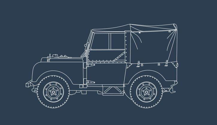 65 YEARS OF LAND ROVER - Illustrations on Behance
