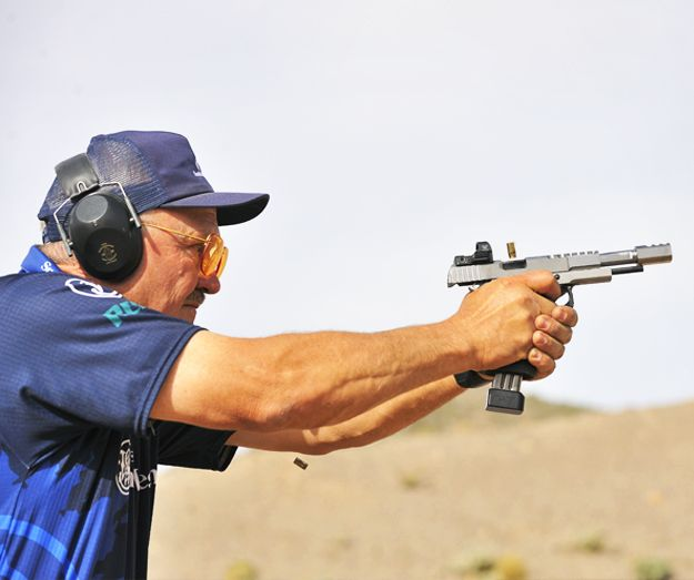 how to become better pistol shooter