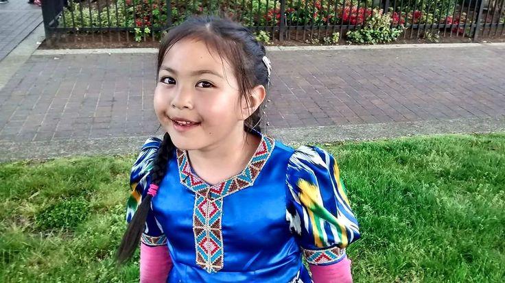 Turan bakışlı, Türk gülüşlü Uygur Türk kızı💙
