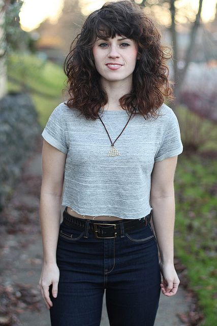 My hair is gonna end up looking like this soon. I think im ok with that. via Delightfully Tacky