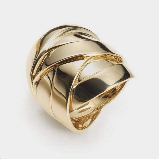 Maldamore Collection, yellow gold ring by Mattioli