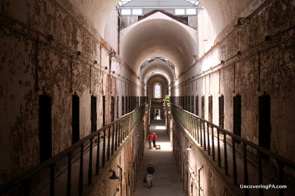 Walking through the gates of Eastern State Penitentiary in downtown Philadelphia, it's difficult to imagine what it must have been like for the roughly 75,000 inmates who crossed into the gothic-castle structure to start their prison sentences. When it opened in 1829, Eastern State Penitentiary...