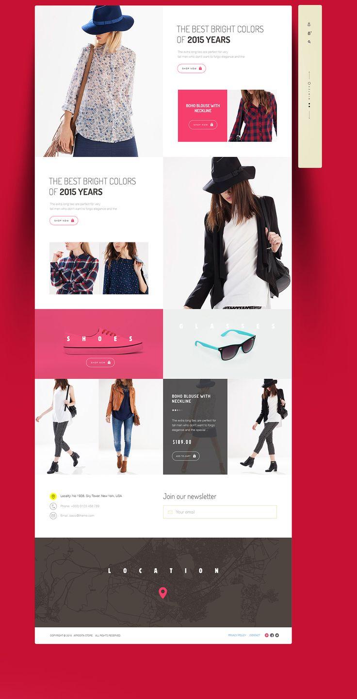 Afrodita Fashion on Web Design Served