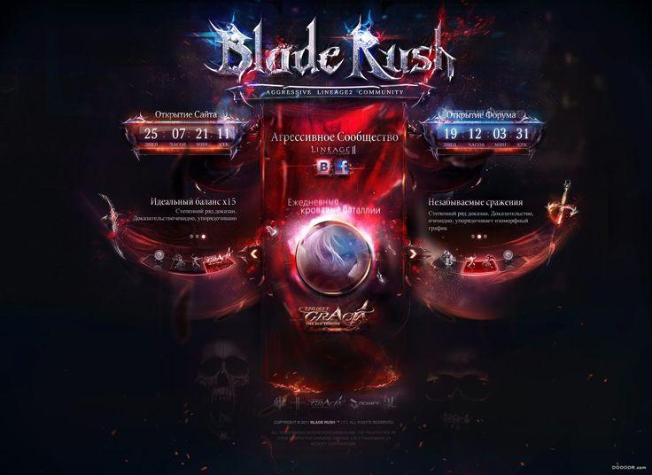 13 dark strong competitive games official website design - B.jpg