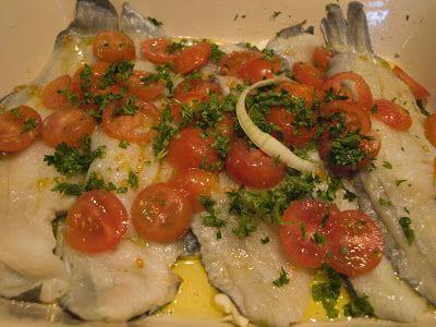 Ιστομαγειρέματα: Γλώσσα (ψάρι) στο φούρνο
