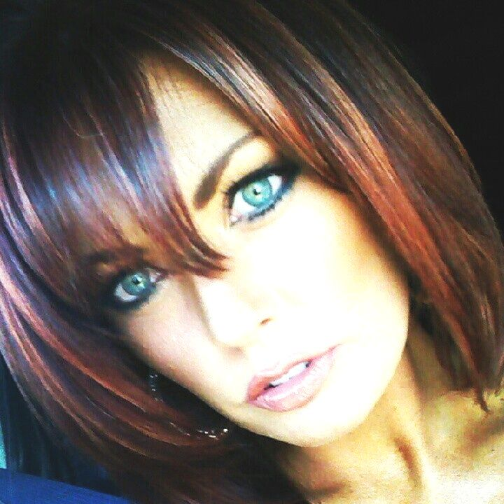 Cooper Highlights On Black Hair Black Hair With Highlights Light Red Hair Light Hair Color