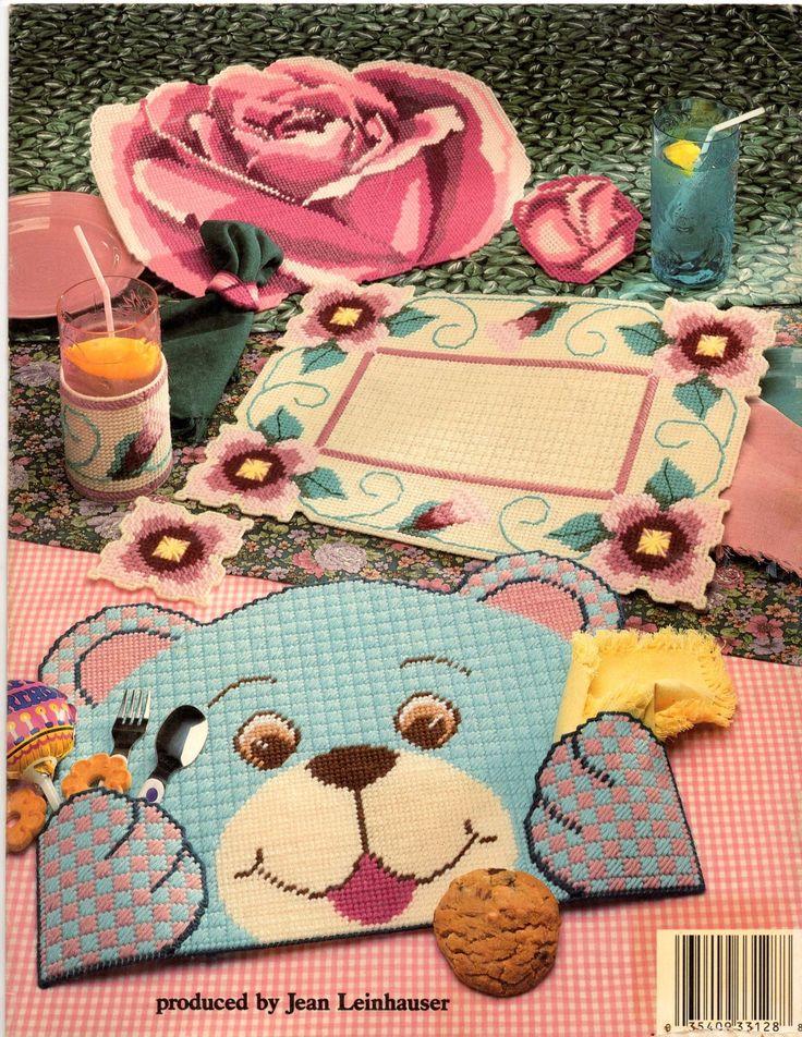 Plastic Canvas Placemats Pattern Book - Dianne Davis & Kathy Wirth ASN 3128
