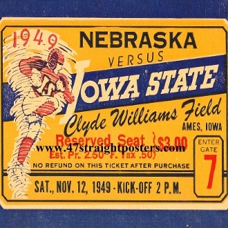 Iowa State football gifts. Football Gift Ideas. Last minute gifts. Last minute Father's Day Gifts, Best last minute gift ideas. Ceramic drink coasters made from over 2,000 historic college football tickets and other vintage sports art. #lastminutegifts $29.99 Printed in the U.S.A and shipped within 24 hours.