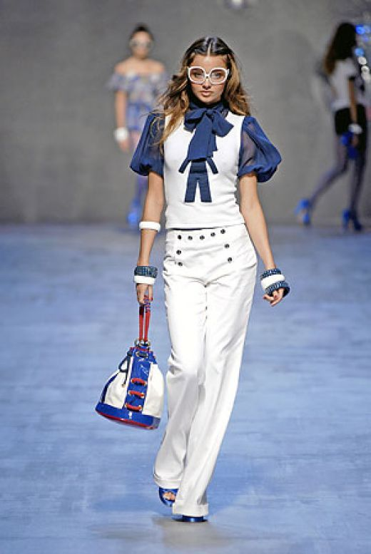 Would so wear this. Nautical Fashion