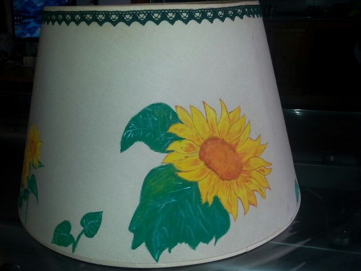 Paralume dipinto a mano
