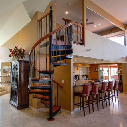 Best The Tuscan Decorative Spindle Spiral Stairs In 2020 Stairs 400 x 300