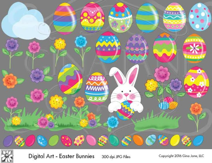 17 Best Images About Easter Printables Clip Art Images On