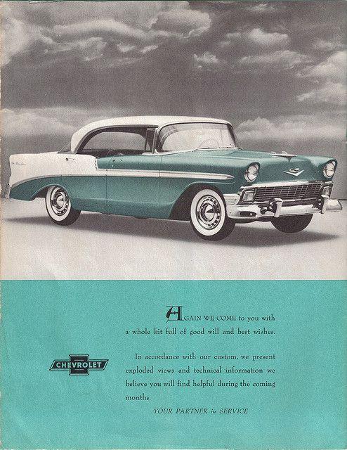 1956 chevrolet bel air 4 door hardtop vehicular dreams for 1956 chevy four door hardtop