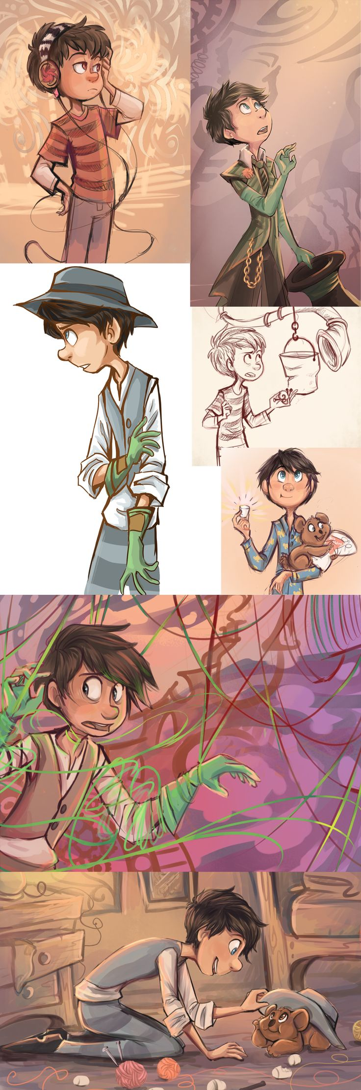 Once-ler and Ted Stuff by sharpie91.deviantart.com - The Lorax #fanart