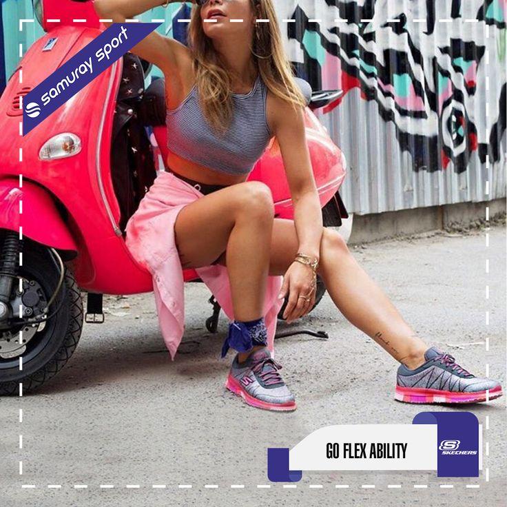 💕 Skechers 💗 Rahat, şıklık ve güzellikle birleşince.. 💗 👉🏼Satış Fiyatı: 246,75 TL 👉Ürün Kodu: 14011S-GHP ▶️36,5 / 40 Numaralar arası stokta◀️ 📦Ücretsiz Kargo 🚩Sipariş İçin: www.samuraysport.com ☎️Telefon İle Sipariş: 0850 222 444 8 🎁Bol AVANTAJLI alışverişler dileriz.. #skechers #goflex #ayakkabi #shoes #sport #moda #style #trend #cool #fashion #fallowback #girls #samuraysport