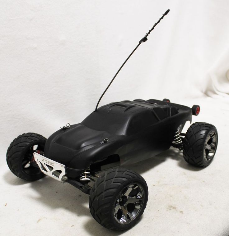 Traxxas RC Radio Controlled 2wd Car Velineon Motor Very Fast Black Painted Body #Traxxas