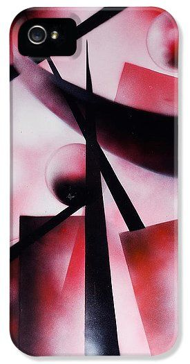 X-world IPhone 5 / 5s Case Printed with Fine Art spray painting image X-world by Nandor Molnar (When you visit the Shop, change the orientation, background color and image size as you wish)