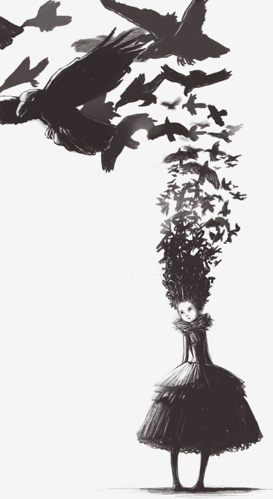red-lipstick:    Avalantis aka Bianca Ansems (UK) - A Feast For Crows, 2008  Digital Arts: Drawings  http://avalantis.deviantart.com/art/A-Feast-for-Crows-93659469?q=gallery%3Aavalantis%2F687429=28