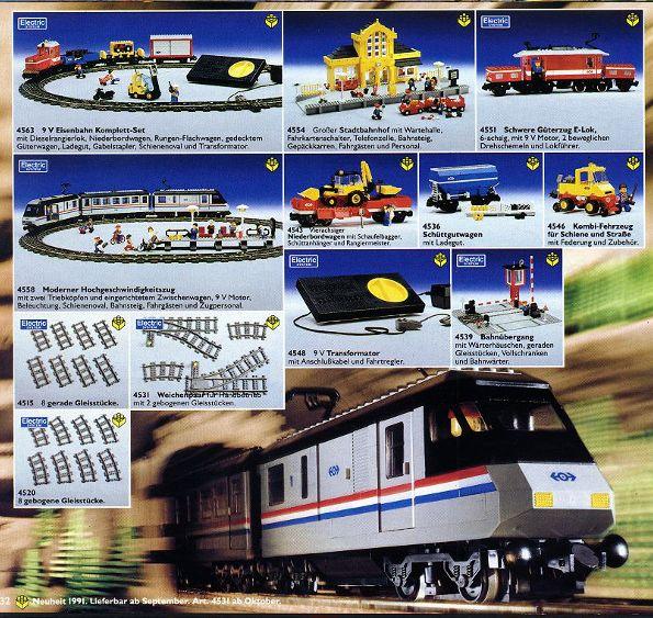 Lego Train 1991 Set Lego From 1991 Lego Trains Lego