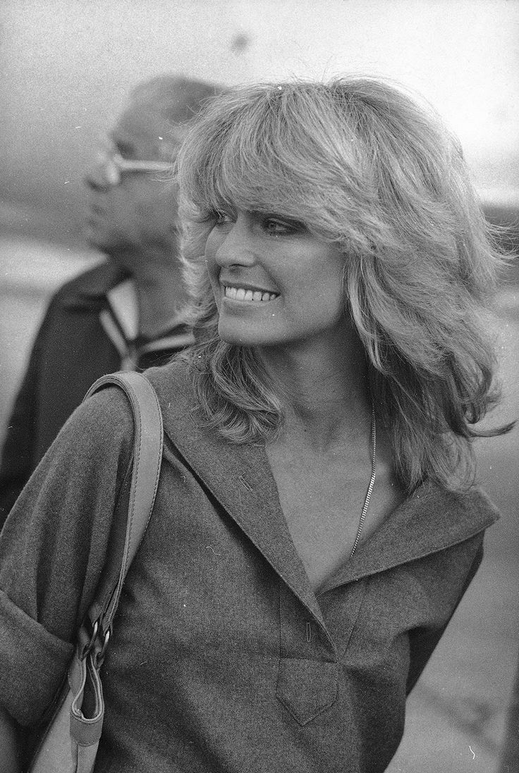 Farrah Fawcett, 1977. Actress Farrah Fawcett's hair epitomised the seventies style. (PA) vintage everyday: 20 Photos Showing the Beautiful of the 1970s Fashion