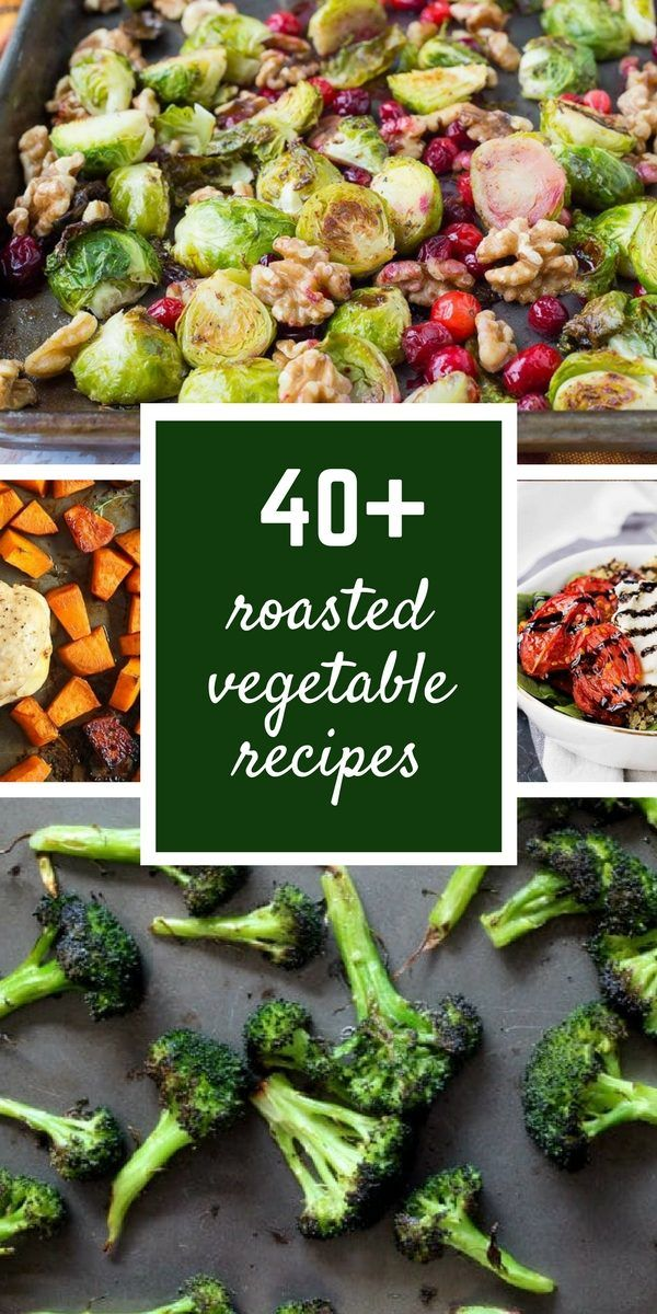 Over 40 Recipes for Roasted Vegetables - there's something for everyone here, whether you're new to roasting vegetables or an expert! Get all the recipes on RachelCooks.com!