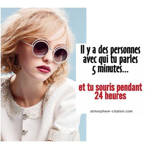 Il y a des peronnes avec qui tu parles 5 minutes et tu souris pendant 24 heures  Trouvez encore plus de citations et de dictons sur: http://www.atmosphere-citation.com/strars/il-y-a-des-peronnes-avec-qui-tu-parles-5-minutes-et-tu-souris-pendant-24-heures.html?