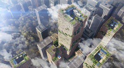 Japan - It's A Wonderful Rife: Sumitomo Forestry Wants To Build A 350 Meter High ...