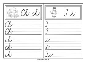 Učíme sa písať písané a tlačené písmenká - Aktivity pre deti, pracovné listy, online testy a iné