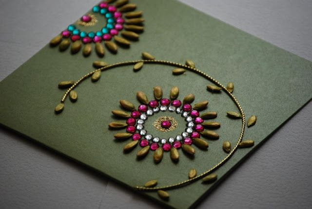 Handmade Diwali Greetings Cards Images for Kids, diwali cards ideas for kids'