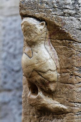 You must not visit Dijon without rubbing the owl carved into the church for good luck. He's been extremely well rubbed you see. La Chouette de Dijon - https://www.lawlessfrench.com/reading/symboles-de-dijon/