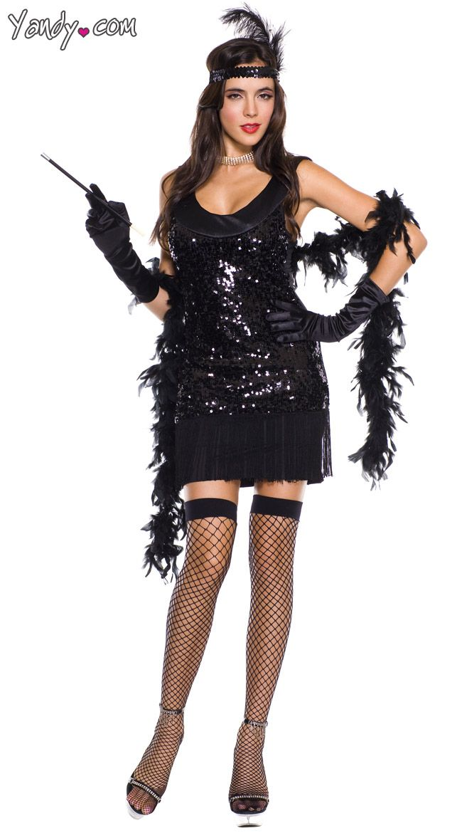 about Flapper Girl Costumes on Pinterest | Flapper Costume, Flapper ...