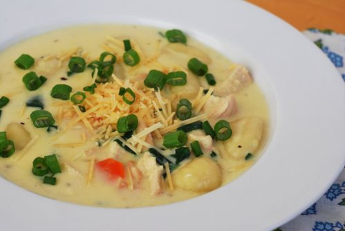 Chicken Gnocchi Soup Recipe Gardens Chicken Gnocchi Soup And The Olive