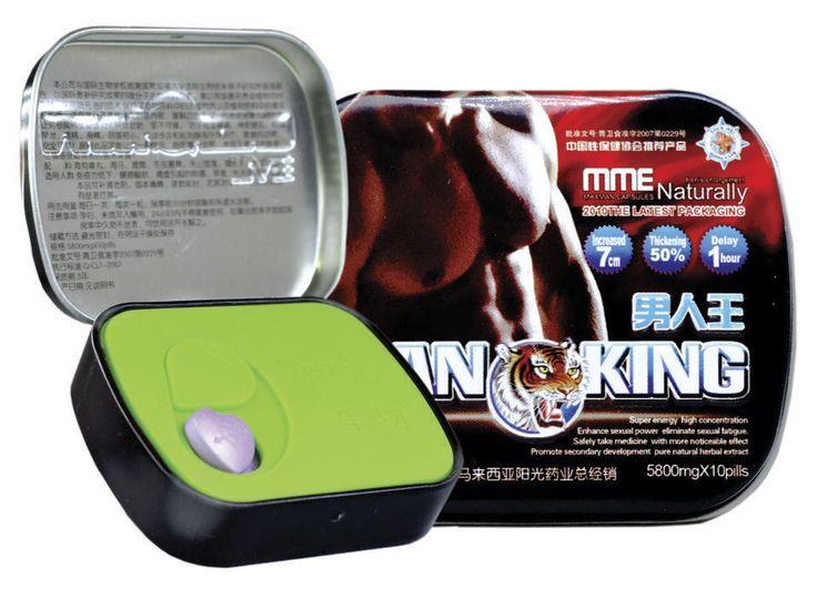 Man King – Producto que le permitirá consolidar y endurecer su erección. Incrementa el flujo de esperma. 100% natural, sin contraindicaciones.