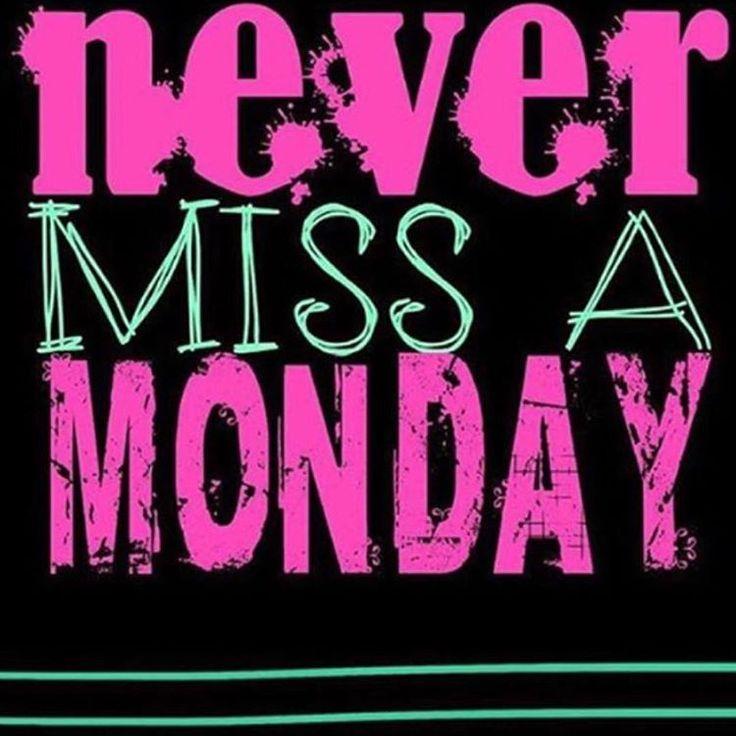 Never Miss A Monday #hotpink #motivation #MondayMotivation