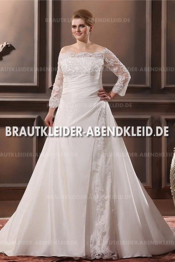 20 best Brautkleider Große Größen images on Pinterest   Bridal gowns ...