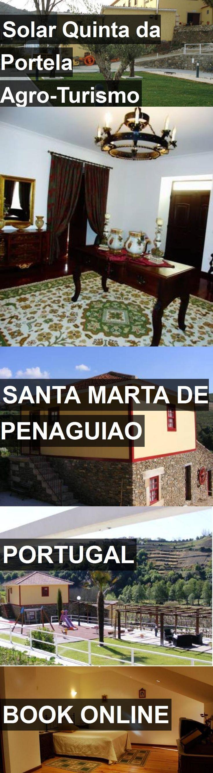 Hotel Solar Quinta da Portela Agro-Turismo in Santa Marta de Penaguiao, Portugal. For more information, photos, reviews and best prices please follow the link. #Portugal #SantaMartadePenaguiao #travel #vacation #hotel