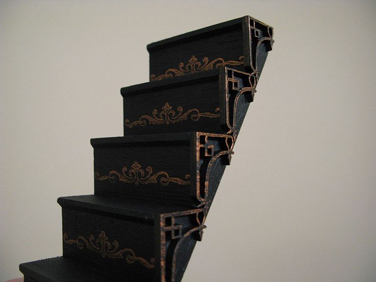 Tower Staircase Miniature : Images about miniature stairs on pinterest