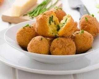 Croquettes de pommes de terre au fromage sans friteuse