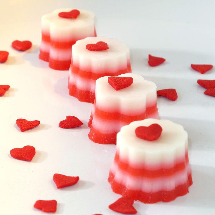 White Chocolate Strawberry Shots