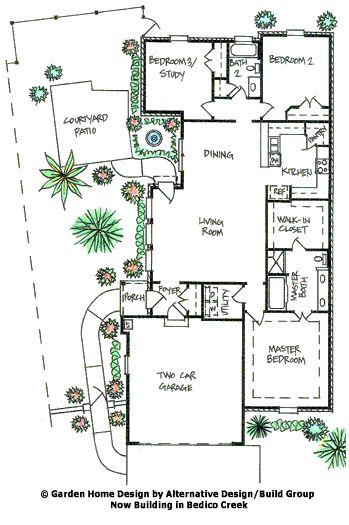 captivating new orleans style house plans courtyard images - best