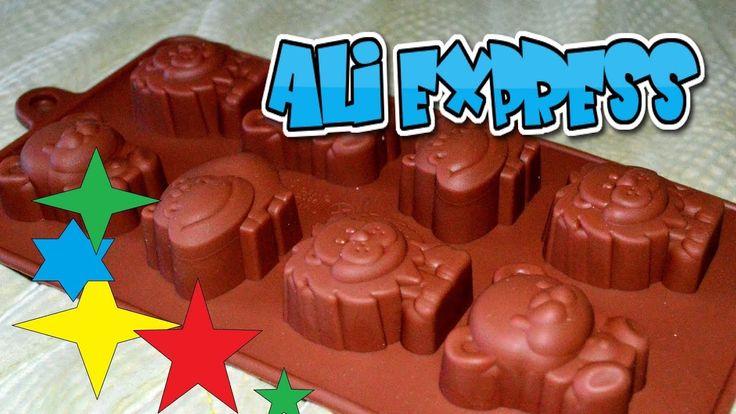 КЛАССНЫЕ ТОВАРЫ ИЗ КИТАЯ! Форма для шоколада. Посылка из Китая. AliExpress.